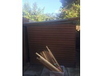 Wooden Garden Shed 8ft by 6ft