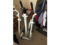 Cross Trainer as new rarely used V Fit model folds down for easy removal and storage