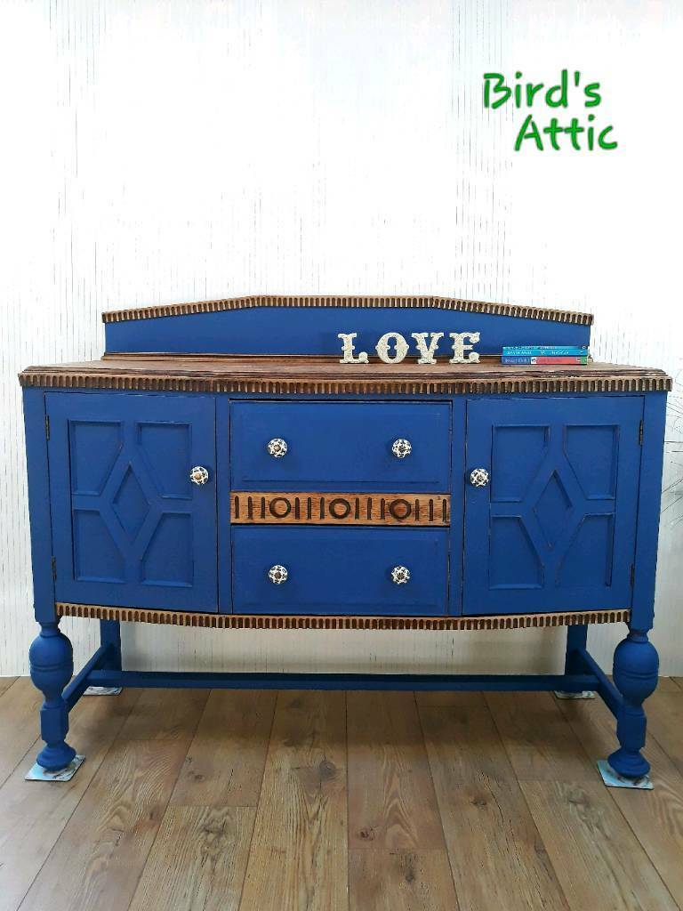 Vintage shabby chic buffet sideboard