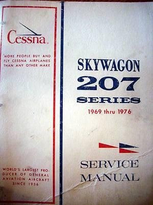 1969 - 1976 Cessna 207 & Skywagon Service manual