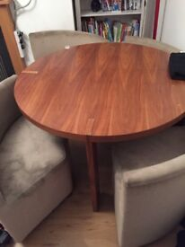 Dwell table and chairs
