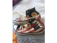 Kids American style converses