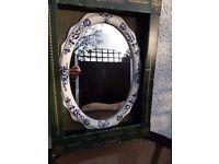 Hadida earthenware mirror