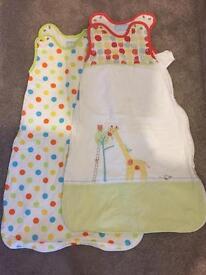 Gro bag sleeping bags 0-6months