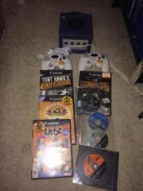 Purple GameCube console bundle
