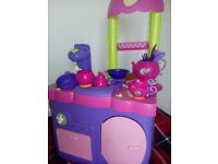 Minni mouse cooker set and a large bag of accessories