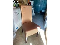 Bargain Faux Leather Chairs (buy all 4, get £10 off)