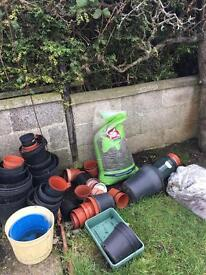 Free plant pots and water butt