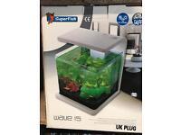 Super fish wave 15 aquarium / fish tank