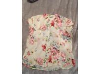 Women's flower top size 12