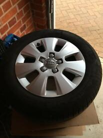 "GENUINE Audi / VW / SEAT alloy wheels 15"" A1, A3, golf, polo"