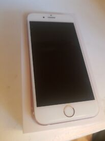 Iphone 6s rose gold - boxed no charger
