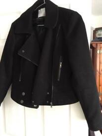 Black bomber jacket medium
