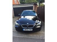 525D BLACK BMW, FULL SERVICE HISTORY, 4 NEW TYRES, 10 MONTH MOT
