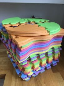 Foam puzzle playmat with boarders - 2 sets available