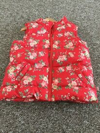 Cath Kidston Kids Gilet- Never Worn - Size 5-6 years old