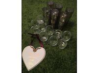 Tea light holders (wedding)