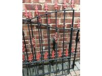 Wrought iron gates for drive ways