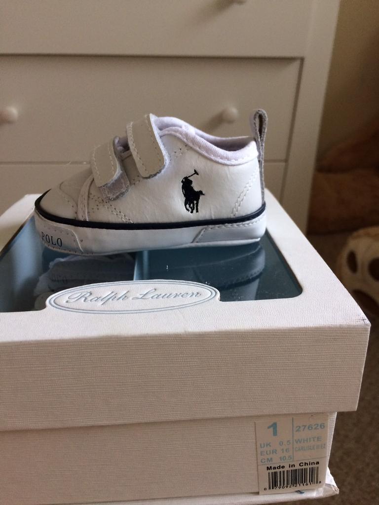 Ralph Lauren unisex pram shoes