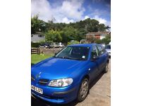 Nissan Almera *spares or repairs* Drives well but no MOT