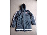 Aberdeen Football Club jacket Adidas small adult