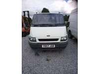 FOR SALE FORD TRANSIT TIPPER 350 MWB TD 2001