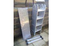 Aluminium Ladders 4 way