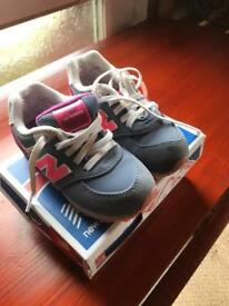 Child's new balance (money going to charity)