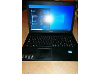 Lenovo 15.6 inch laptop. Excellent condition. Charger included. Great battery lif3
