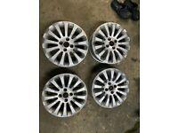 Genuine Ford KA Alloys 15 Inch Titanium Rims 51824044