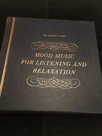 Mood Music For listening And Relaxation Vinyl Set - £10.00