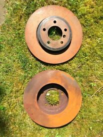 BMW 330 CI (E46) skimmed break discs