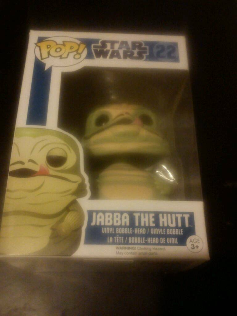 Star Wars Jabba the Hutt Funko Pop Figure