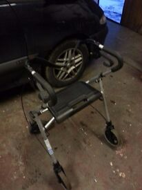 MOBILITY STROLLER WITH SEAT