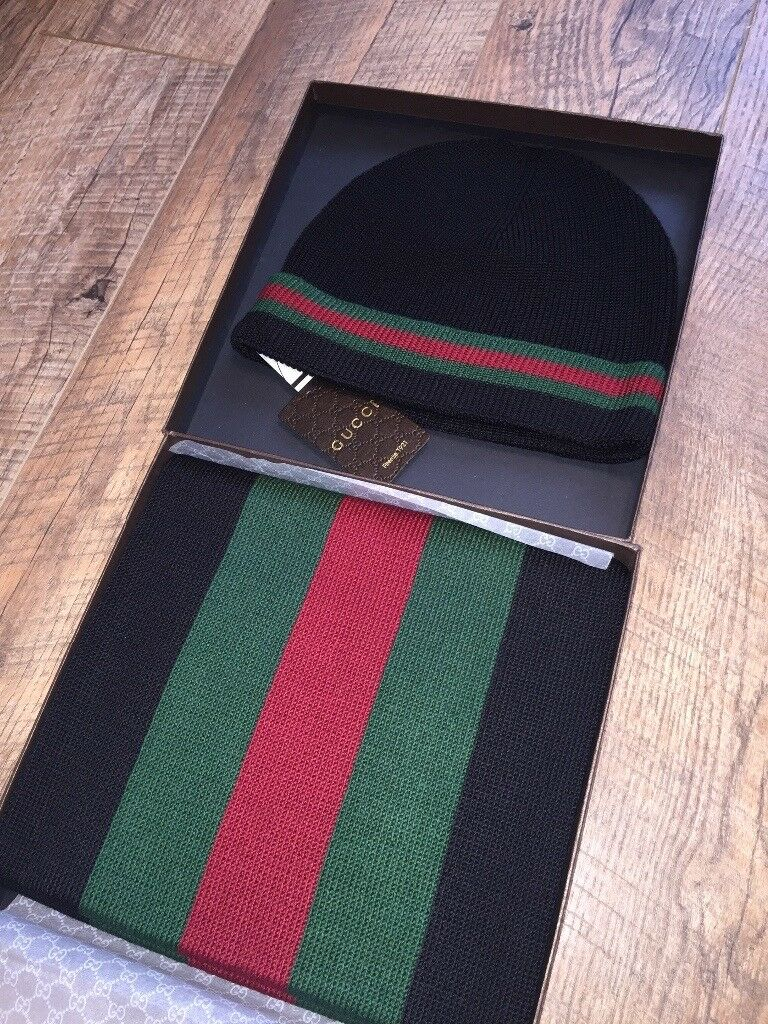 Gucci Hat And Scarf Set  765e9a85639