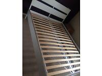 White bed Standard doble
