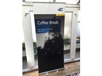 Advertising stand roll up stand new