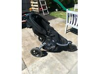 Britax B motion 3 wheeler all terrain buggy stroller pushchair Black unisex