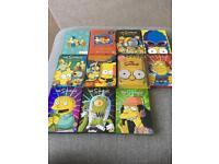 Simpsons dvd sets