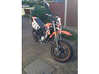 AJS JSM 50cc supermoto/motorbike/moped