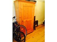 Solid Pine Wardrobe/Closet for Sale- Antique styling