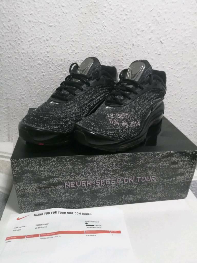 3560ff4ce20dd6 Nike Air X Skepta SK Air Never Sleep On Tour Size 8