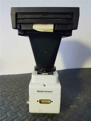 Wild Mp551 Microscope Camera Adapter With Leitz Wetzler Polaroid Attachment