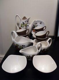 Mid-winter stylecraft coffee set