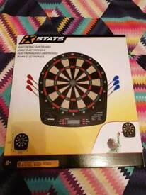 Electronic dartboard for kids