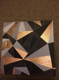 Set of canvases