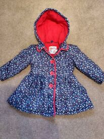 Miniclub (Boots) 1 1/2-2 years girls babies toddler coat