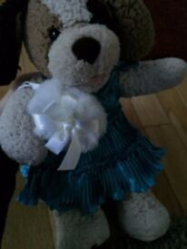 Build a Bear with dress and bag