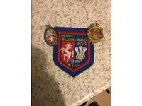 West Kent R. League Prince William Medal Fobs