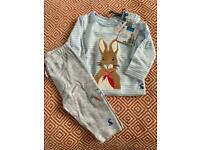 BNWT Joules Peter Rabbit Outfit - up to 3months